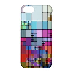 Color Abstract Visualization Apple Iphone 8 Hardshell Case