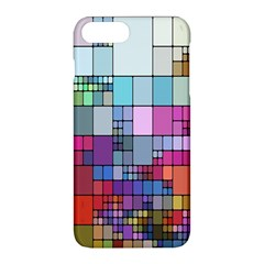 Color Abstract Visualization Apple Iphone 8 Plus Hardshell Case