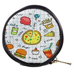 Colorful Doodle Soda Cartoon Set Mini Makeup Bags