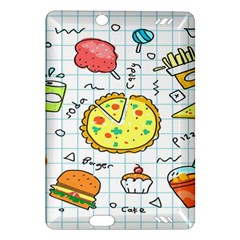Colorful Doodle Soda Cartoon Set Amazon Kindle Fire Hd (2013) Hardshell Case