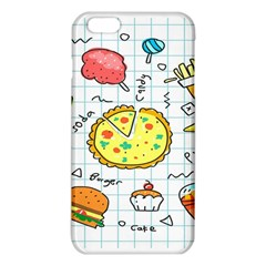 Colorful Doodle Soda Cartoon Set Iphone 6 Plus/6s Plus Tpu Case