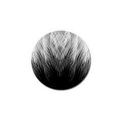 Feather Graphic Design Background Golf Ball Marker (10 Pack)