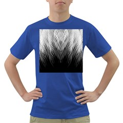 Feather Graphic Design Background Dark T Shirt