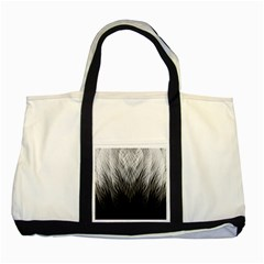 Feather Graphic Design Background Two Tone Tote Bag