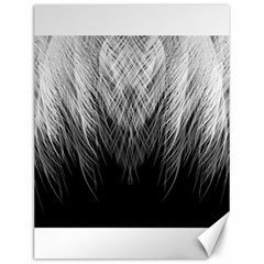 Feather Graphic Design Background Canvas 12  X 16