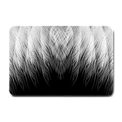 Feather Graphic Design Background Small Doormat