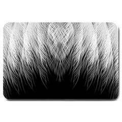 Feather Graphic Design Background Large Doormat