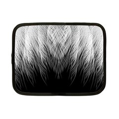 Feather Graphic Design Background Netbook Case (small)
