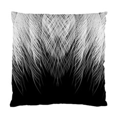 Feather Graphic Design Background Standard Cushion Case (one Side)