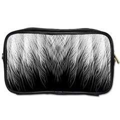 Feather Graphic Design Background Toiletries Bags