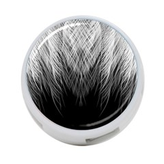Feather Graphic Design Background 4 Port Usb Hub (two Sides)