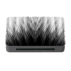 Feather Graphic Design Background Memory Card Reader With Cf