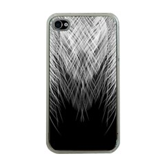 Feather Graphic Design Background Apple Iphone 4 Case (clear)