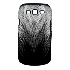 Feather Graphic Design Background Samsung Galaxy S Iii Classic Hardshell Case (pc+silicone)