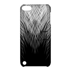 Feather Graphic Design Background Apple Ipod Touch 5 Hardshell Case With Stand