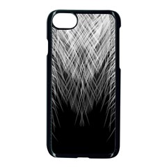 Feather Graphic Design Background Apple Iphone 8 Seamless Case (black)