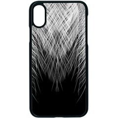 Feather Graphic Design Background Apple Iphone X Seamless Case (black)