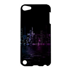 City Night Skyscrapers Apple Ipod Touch 5 Hardshell Case