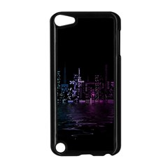 City Night Skyscrapers Apple Ipod Touch 5 Case (black)
