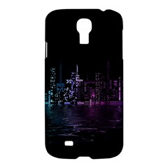 City Night Skyscrapers Samsung Galaxy S4 I9500/i9505 Hardshell Case