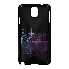 City Night Skyscrapers Samsung Galaxy Note 3 Neo Hardshell Case (black)