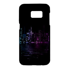 City Night Skyscrapers Samsung Galaxy S7 Hardshell Case
