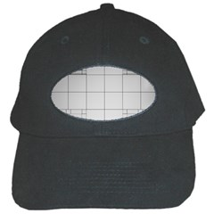 Abstract Architecture Contemporary Black Cap