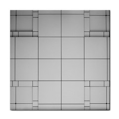 Abstract Architecture Contemporary Tile Coasters