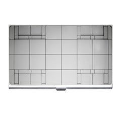 Abstract Architecture Contemporary Business Card Holders