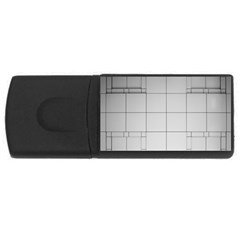 Abstract Architecture Contemporary Rectangular Usb Flash Drive