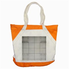 Abstract Architecture Contemporary Accent Tote Bag