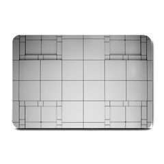Abstract Architecture Contemporary Small Doormat