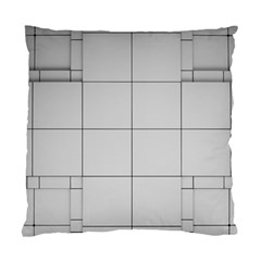 Abstract Architecture Contemporary Standard Cushion Case (two Sides)