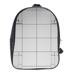Abstract Architecture Contemporary School Bag (large)