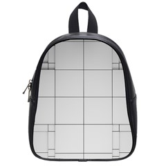 Abstract Architecture Contemporary School Bag (small)