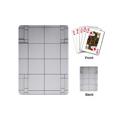 Abstract Architecture Contemporary Playing Cards (mini)