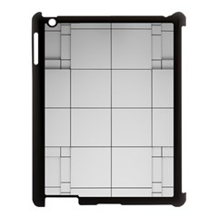 Abstract Architecture Contemporary Apple Ipad 3/4 Case (black)