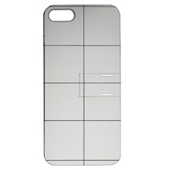 Abstract Architecture Contemporary Apple Iphone 5 Hardshell Case With Stand