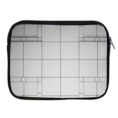 Abstract Architecture Contemporary Apple Ipad 2/3/4 Zipper Cases