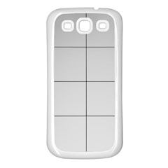 Abstract Architecture Contemporary Samsung Galaxy S3 Back Case (white)