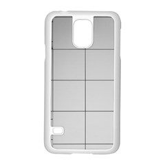 Abstract Architecture Contemporary Samsung Galaxy S5 Case (white)