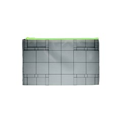 Abstract Architecture Contemporary Cosmetic Bag (xs)