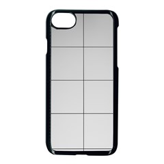 Abstract Architecture Contemporary Apple Iphone 8 Seamless Case (black)