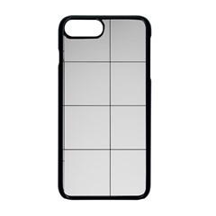 Abstract Architecture Contemporary Apple Iphone 8 Plus Seamless Case (black)