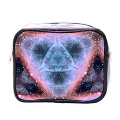 Sacred Geometry Mandelbrot Fractal Mini Toiletries Bags