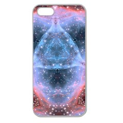 Sacred Geometry Mandelbrot Fractal Apple Seamless Iphone 5 Case (clear)