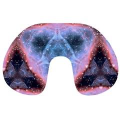 Sacred Geometry Mandelbrot Fractal Travel Neck Pillows