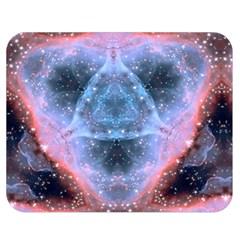 Sacred Geometry Mandelbrot Fractal Double Sided Flano Blanket (medium)
