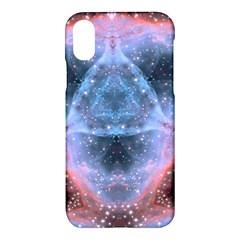 Sacred Geometry Mandelbrot Fractal Apple Iphone X Hardshell Case