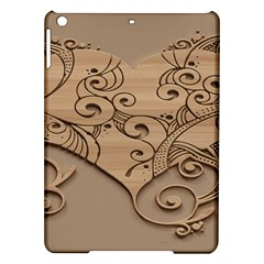 Wood Sculpt Carved Background Ipad Air Hardshell Cases